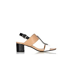 Wallis - Camel block heel sandals