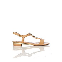 Wallis - Tan studed sandal