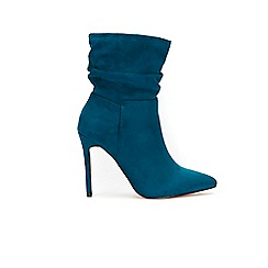 Wallis - Teal ankle boots