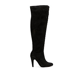 Wallis - Black over the knee boots