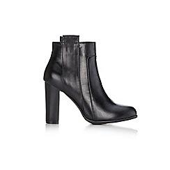 Wallis - Black tab ankle boot