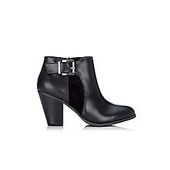 Wallis - Black peep toe shoe boots