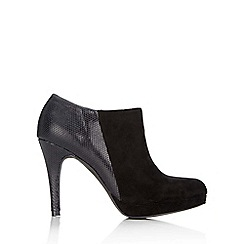 Wallis - Black platform shoe boot