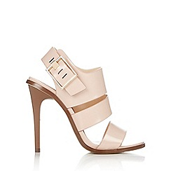 Wallis - Nude strappy high heel sandal