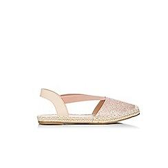 Wallis - Pale pink espadrilles