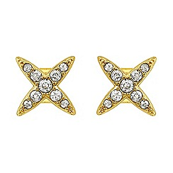 Adore - Star stud earrings made with swarovski crystals