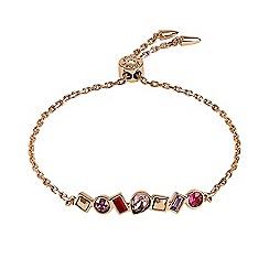 Adore - Multi shape toggle bracelet created with Swarovski crystals
