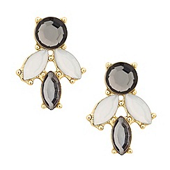 Betty Jackson.Black - Designer statement crystal cluster earring