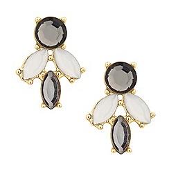 Betty Jackson.Black - Designer statement crystal cluster earring