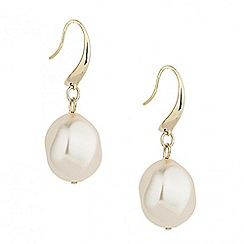 Betty Jackson.Black - Designer baroque pearl earring