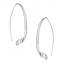 Betty Jackson.Black - Designer long twist stick drop earring