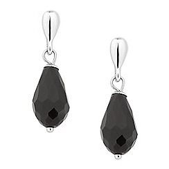 Betty Jackson.Black - Designer jet facet bead drop earring