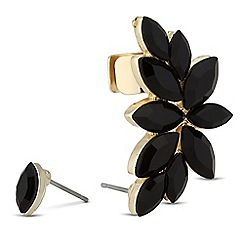 Betty Jackson.Black - Designer online exclusive jet stone ear cuff
