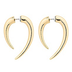 Betty Jackson.Black - Designer double side spike earring