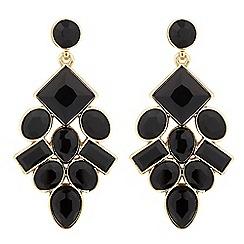 Betty Jackson.Black - Designer jet stone chandelier earring