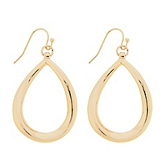 Betty Jackson.Black - Polished teardrop earring