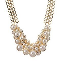Betty Jackson.Black - Designer chunky pearl chain necklace