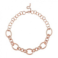 Betty Jackson.Black - Designer rose gold link chain necklace