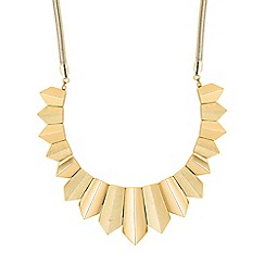 Betty Jackson.Black - Designer online exclusive textured panel necklace