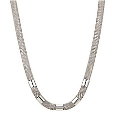 Betty Jackson.Black - Mesh tube necklace