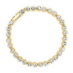 Betty Jackson.Black - Polished gold tennis bracelet