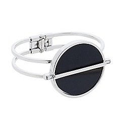 Betty Jackson.Black - Art deco hinged bangle