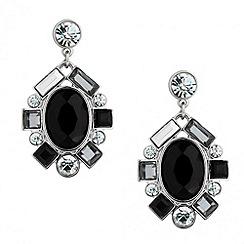 Principles by Ben de Lisi - Designer grey cluster chandelier earring