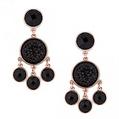 Principles by Ben de Lisi - Designer jet stone multi drop earring