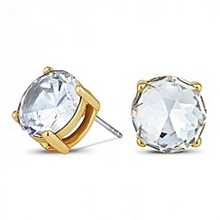 Principles by Ben de Lisi - Designer round crystal stud earring