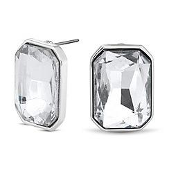 Principles by Ben de Lisi - Designer crystal square stud earring
