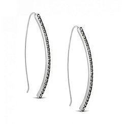 Principles by Ben de Lisi - Designer crystal embellished stick drop earring