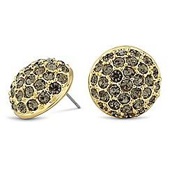 Principles by Ben de Lisi - Designer crystal embellished round stud earring