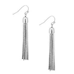 Principles by Ben de Lisi - Designer chain tassel drop earring