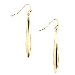 Principles by Ben de Lisi - Designer polished pointed stick drop earring