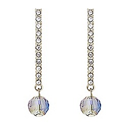 Principles by Ben de Lisi - Designer Pave stick beaded drop earring