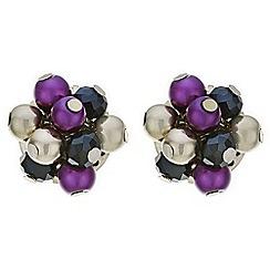 Principles by Ben de Lisi - Designer pearl cluster stud earring