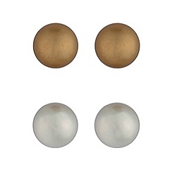 Principles by Ben de Lisi - Designer multi tone circle earring