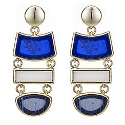 Principles by Ben de Lisi - Designer multi shape drop earring