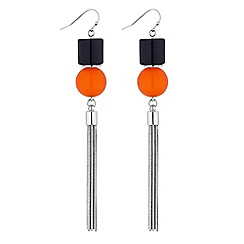 Principles by Ben de Lisi - Beaded tassel earring