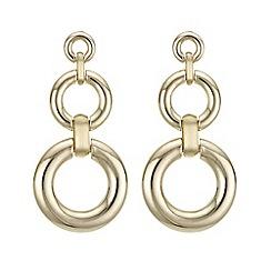 Principles by Ben de Lisi - Designer circle drop earrings