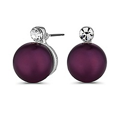 Principles by Ben de Lisi - Designer oversized pearl stud earrings