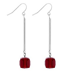 Principles by Ben de Lisi - Designer cube bead drop earrings