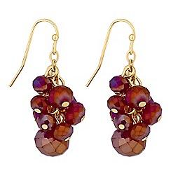 Principles by Ben de Lisi - Designer beaded cluster earrings