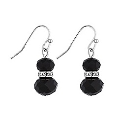 Principles by Ben de Lisi - Designer facet bead drop earrings
