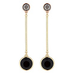 Principles by Ben de Lisi - Designer crystal disc earrings