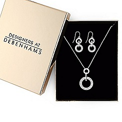Principles by Ben de Lisi - Designer crystal ring jewellery set in a gift box