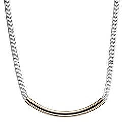 Principles by Ben de Lisi - Designer white snake bar necklace