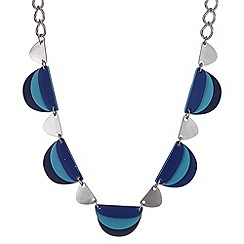 Principles by Ben de Lisi - Designer online exclusive triple plate necklace