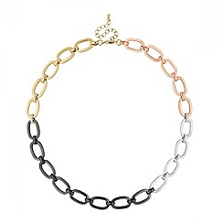 Principles by Ben de Lisi - Designer mixed metal link chain necklace