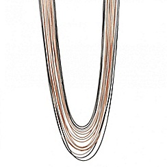 Principles by Ben de Lisi - Designer mixed box chain drop necklace
